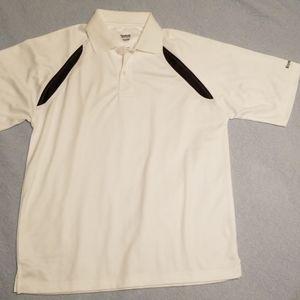 Reebok Medium White Performance Polo